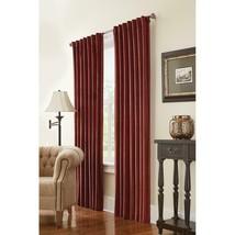 "NEW 2 Pack Room Darkening Window Panels in Cranberry Velvet 50"" x 84"" - $38.00"