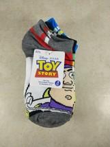 Disney Toy Story Buzz Lightyear & Woody Kids Boys 6 Pair Socks SIZE 10-4 NEW - $7.99