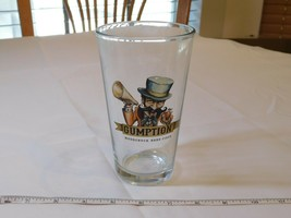 Gumption Woodchuck Hard Cider Pint glass Beer Mug glass very good condition - $16.02