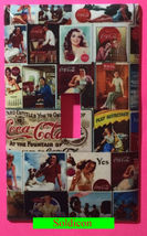 Coke Coca Cola Old posters Light Switch Power Outlet Wall Cover Plate Home decor