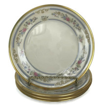 """Four Lenox Ivory Porcelain Raleigh Pattern Bread And Butter Plates 6 3/8""""  - $33.62"""