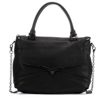 Botkier Large Valentina Black Leather Crossbody Tote bag - NEW with Tags - $275.00