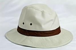 Men's Canvas UV 50 Water Repellent Safari Hat Dorfman Pacific Outdoor De... - $32.18