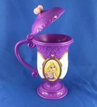 VERY NICE Rare Disney On Ice Tangled Rapunzel Cup 8-10 oz. Purple Princess Glass - $18.99