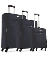 TravelCross Barcelona Luggage 3 Piece Lightweight Expandable Spinner Set... - $181.84