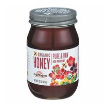 Madhava Honey Organic Pure and Raw Honey - Case of 6 - 22 oz. - $100.63