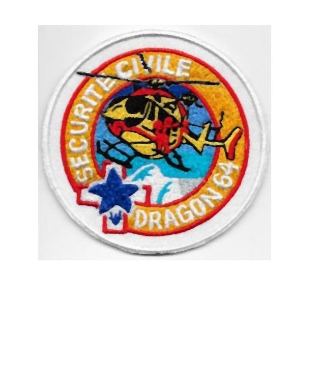 Vile 3 perpignan 2014 sec civile dragon 64 ministere de l interieure velcro 3.75 x 3.75 in 10.99