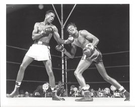 Sugar Ray Robinson Kid Gavilan Vintage 11X14 Matted BW Boxing Memorabilia Photo - $14.99