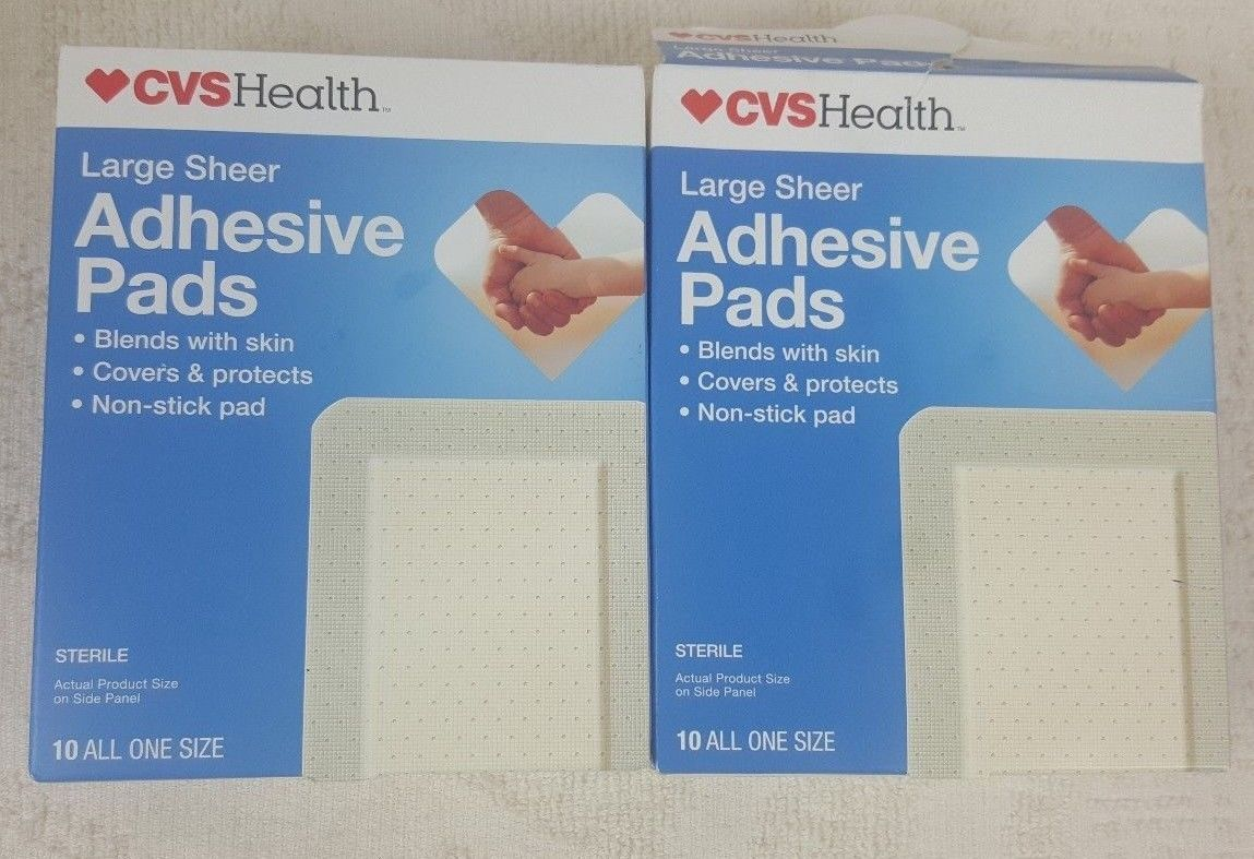 Cvs Health Medium Sheer Adhesive Pads 2 And 50 Similar Items