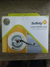 Safety 1st Lever Handle Lock Baby Proof Child Lock - One Hand Use -NEW  ... - $13.65