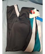 GIRLS SIZE LARGE PUMA GRAY BLUE WHITE LARGE ATHLETIC PANTS NWT - $18.51