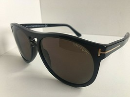 New Tom Ford 57mm Black Men's Sunglasses Italy - $159.99