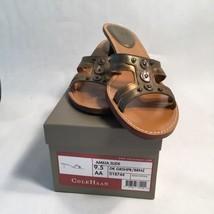 Cole Haan Women's Shoes Amelia Slide Bronze Brown  Size 9.5 AA - $29.91