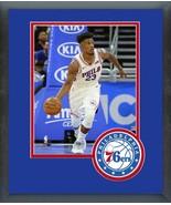 Jimmy Butler 2018-19 Philadelphia 76ers #23 -11x14 Team Logo Matted/Fram... - $43.55