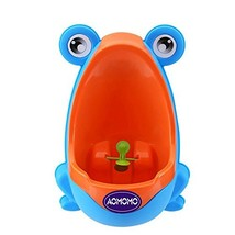 AOMOMO Urinal Potty Training for Boys with Frog Funny Aiming Target (Blue - $9.45