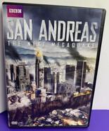 San Andreas: The Next Megaquake DVD 2015 BBC Bonus Earthquake Storm  - $8.90