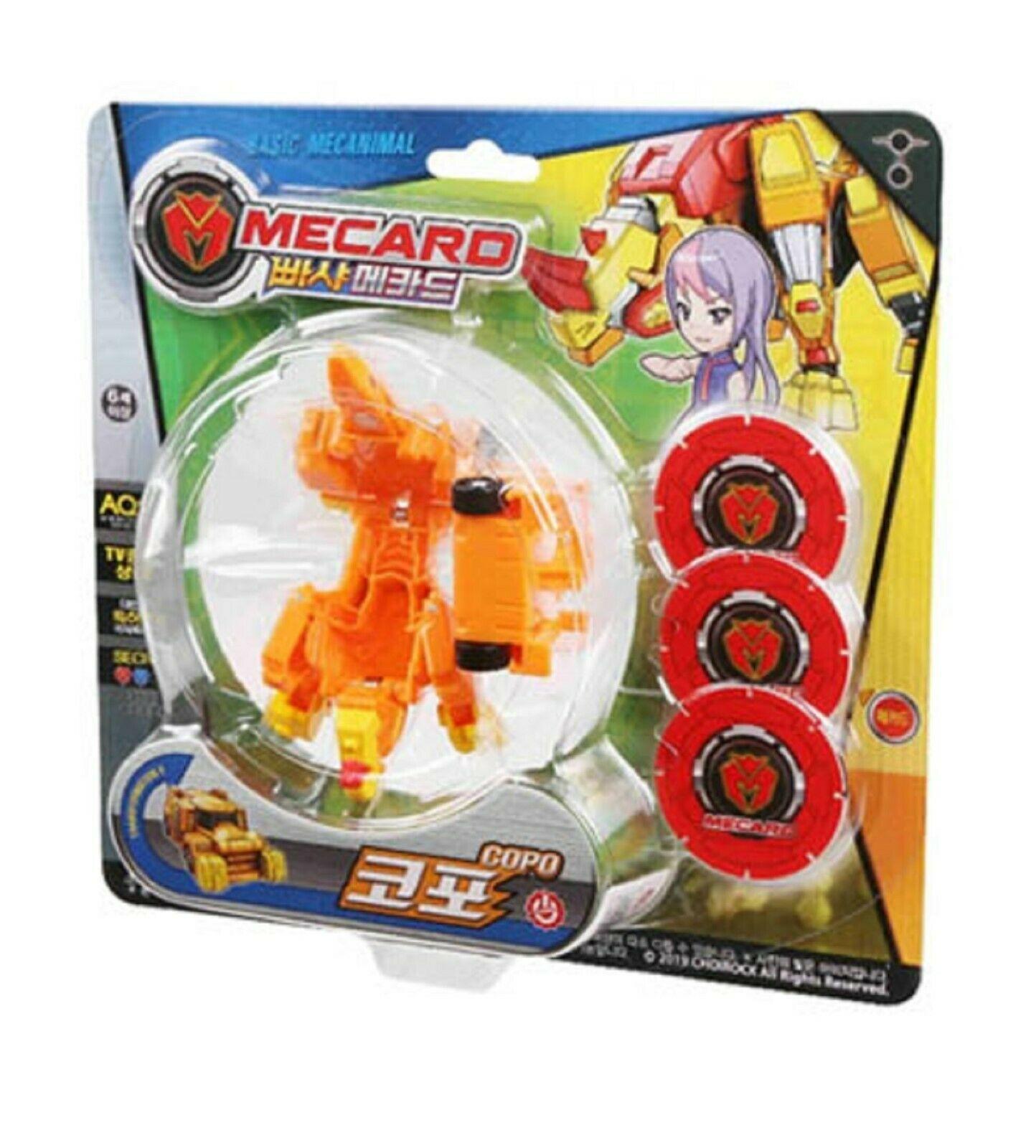 Pasha Mecard Copo Mecardimal Turning Car Vehicle Transformation Transforming Toy