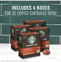 STARBUCKS Nespresso Vertuo - Colombia Coffee (32) Capsules 1 Case Medium Roast - $48.50