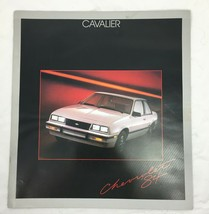 1984 Chevrolet Cavalier Sales Brochure Original Dealer Catalog 20 pages - $14.85