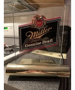 Vintage MILLER HIGH LIFE GENUINE DRAFT BEER Lighted Sign BAR LIGHT LAMP ... - $49.99