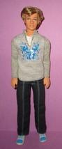 Barbie Ken Fashion Fever Boy Rooted Hair Retired Mold 2006 Gray Sweatshi... - $24.00