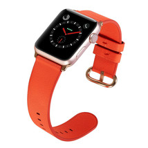 PASBUY 53B Genuine Leather Band for Apple Watch Series 4 3 2 1 38/40mm H... - $12.86