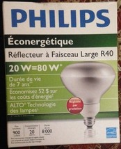 Philips CFL Bulb  20W 2700K R40 Dimmable- Last 7 Years! Energy Saver! - $5.49