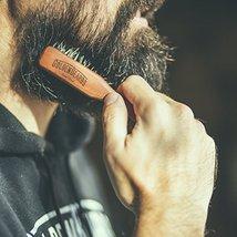 Vegan Beard Brush - Vegetal Bristles for Beard and Moustache from Golden Beards  image 8