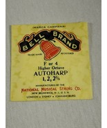 Bell brand AutoHarp Strings F or 4 higher octave 1, 2, 2 3/4 (a12-19) - $14.85