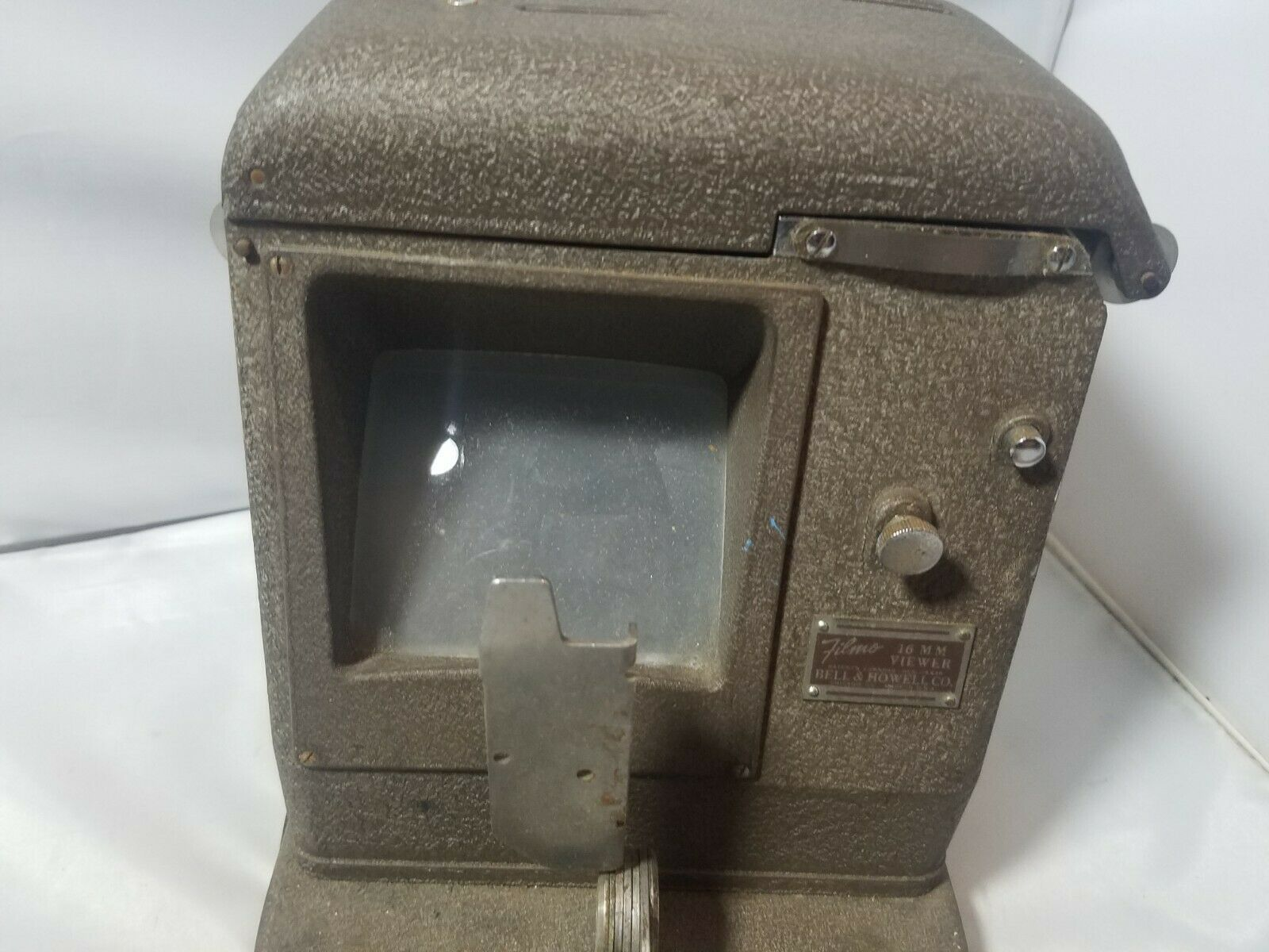 Vintage Bell & Howell Filmo 16mm Film Visualizzatore 146-A 115 Volt AC/Dc