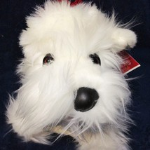 Croonin Critters RARE White Scottie Scottish Dog Dept 56 Holiday Hounds ... - $125.00
