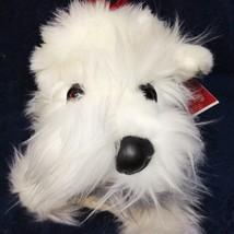 Croonin Critters RARE White Scottie Scottish Dog Dept 56 Holiday Hounds ... - $125.00