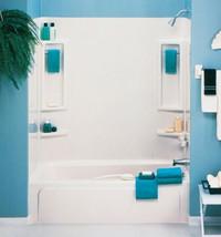 60 X 31 Feet Vantage Tub Wall Surround High Gloss Bathroom Heavy Gauge D... - $131.04