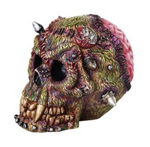 Grotesque Monster Frankenstein Skull Gothic Fantasy Collectible Figurine - $29.69