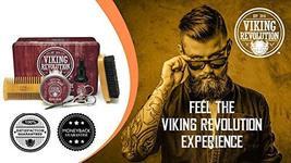 Beard Care Kit for Men- Sandalwood- Ultimate Beard Grooming Kit includes 100% Bo image 3