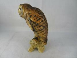 """Vintage BARN OWL Figurine Bird Ceramic Model Hand Painted JAPAN 6""""1/2 Tall image 6"""