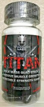 Warrior Labz TITAN Bulk Mass Quad Stack Massive Muscle Growth, 90 Capsules - $118.99