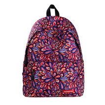 floral large capacity lady creative fashion waterproof shoulder bag-F14 - $28.00