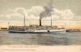 Steamer SS Ransom S Fuller Eastern Steamship Co 1907c postcard - $6.44