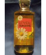 Bath and Body Works New Love and Sunshine Women Shower Gel 10 oz  - $10.95