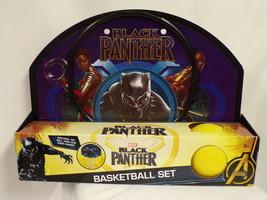 NEW SEALED Marvel Black Panther Mini Basketball Set - $18.49