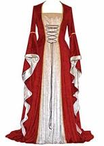 YEAXLUD Womens Renaissance Medieval Costume Dress Lace up Irish (XX-Larg... - £42.45 GBP