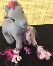 1 Large MLP 1 Med 2 Sm 1 XS My Little Pony Lot of dolls pets Girls 3+ Ha... - $27.99