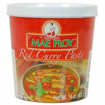 Mae Ploy Red Curry Paste 14 oz ( Pack of 3 ) - $13.99