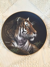 Hamilton Collection Siberian Tiger  Porcelain Plate Collection Limited E... - $12.95