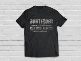 Funny Bartender shirt Gifts for hunting lovers - $18.95