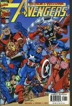 Avengers (V3) #1 VF/NM 1998 Marvel George Perez Wraparound Cover Comic Book - $1.89