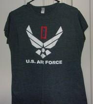 Gildan Womens 2XL U.S. Air Force Graphic Short Sleeve T Shirt - $11.66