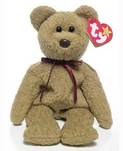 Curly The Bear Ty Beanie Baby Retired Mint Condition with Tags Collectible - $2.96