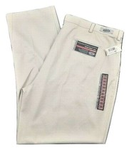 Roundtree & Yorke Flat Front Classic Fit Travel Smart Twill Pant 46x34 B... - $32.77